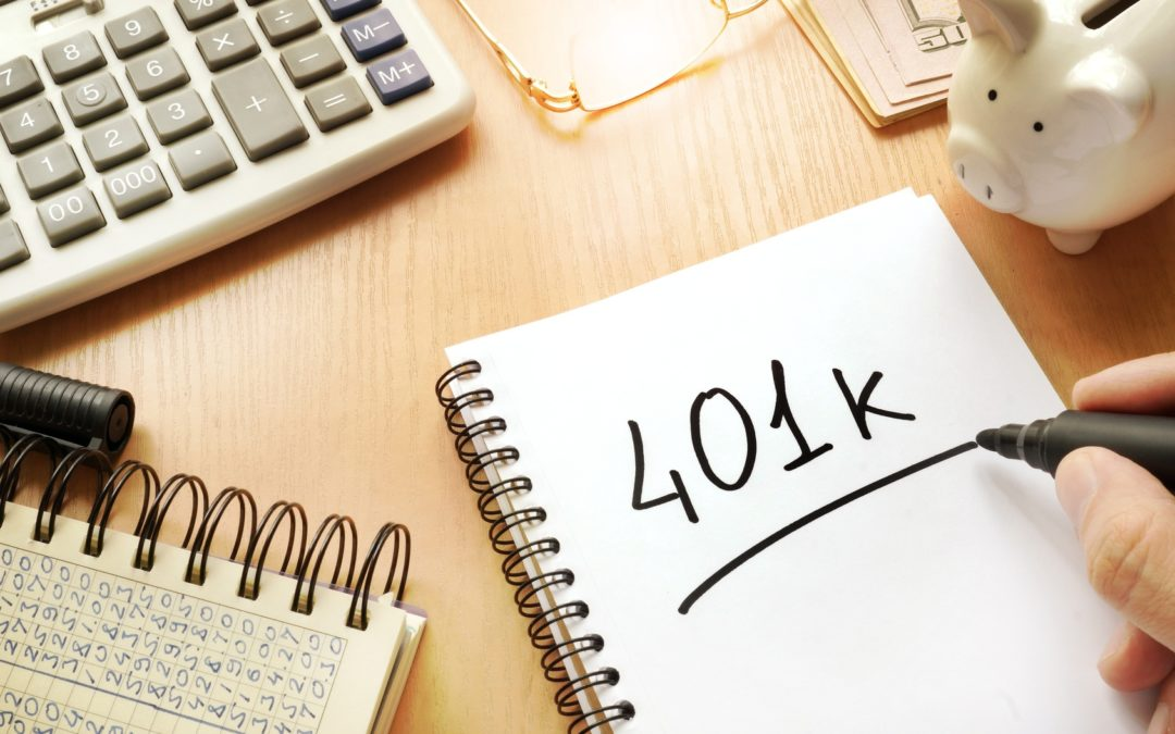 Does a 401k go through probate?